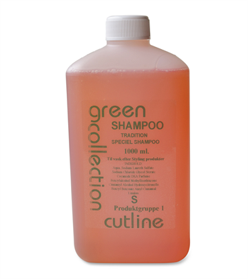 Green Collection Speciel  Shampoo, 1 liter
